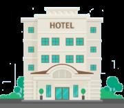 Icona hotel da scontornare